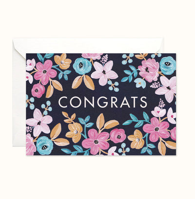 Florabel Congratulations Card