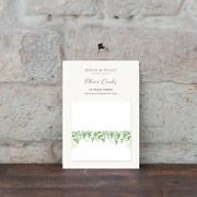 Green Foliage Place Cards