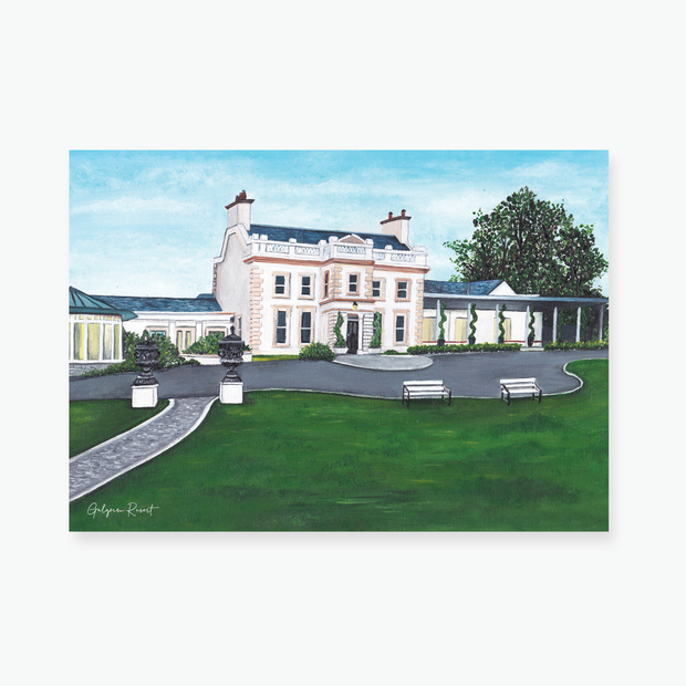 Galgorm Resort Art Print
