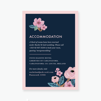 In Bloom Enclosure Card