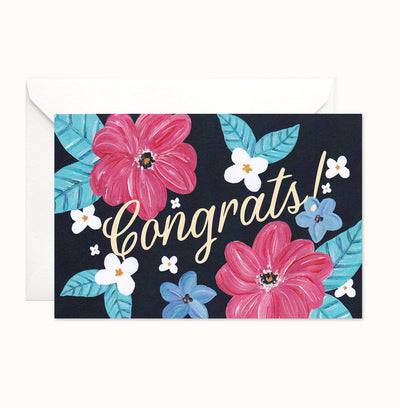 Lush Congratulations Card