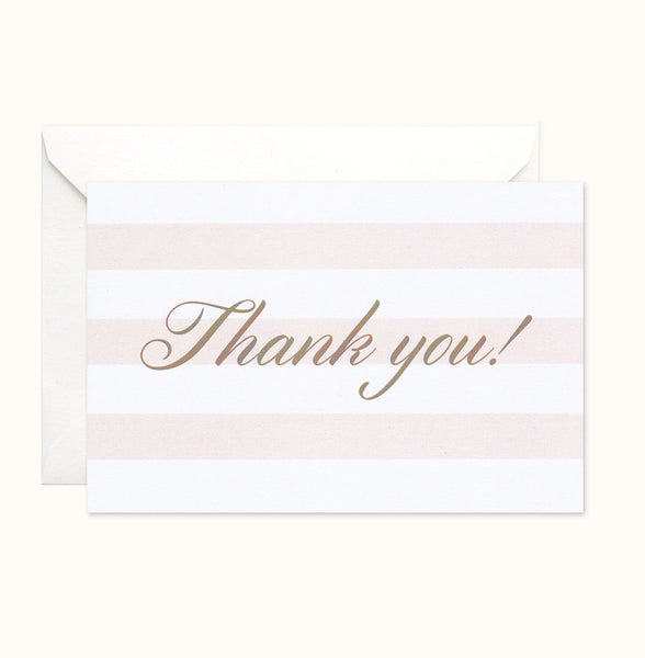 Simple Luxury Thank You card