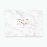Marble Enclosure Card