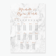 Marble Table Plan