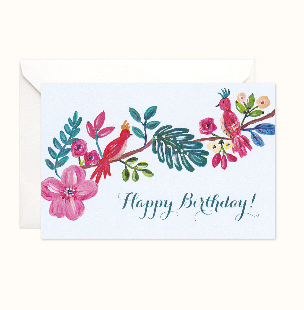 Paradise Birthday Card