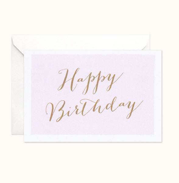 Pastel Birthday card
