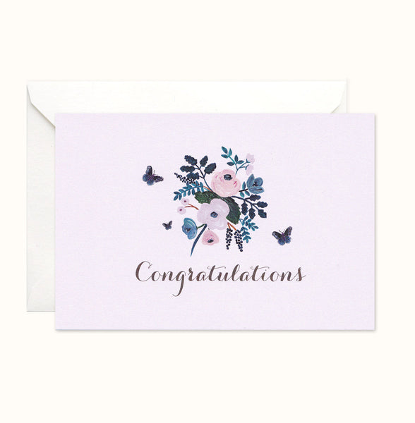 Pretty Pastel Congratulations Card