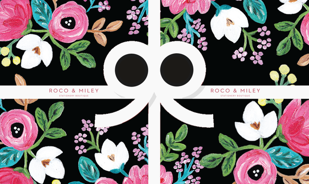 Roco & Miley Gift Card