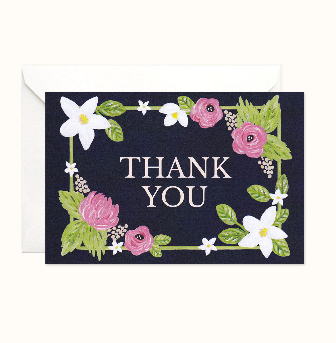 So Chic Thank You card