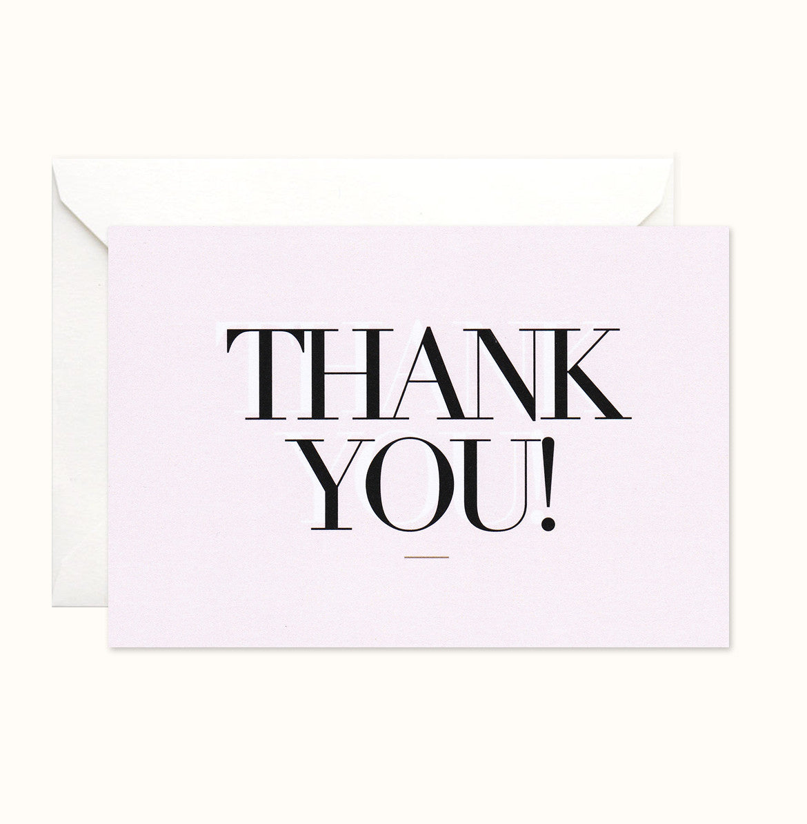 Spotlight Thank You card