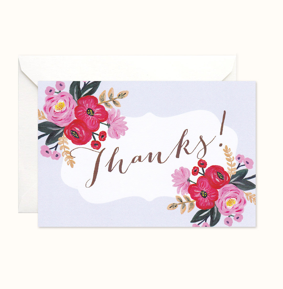 Sweet Bloom Thank You card