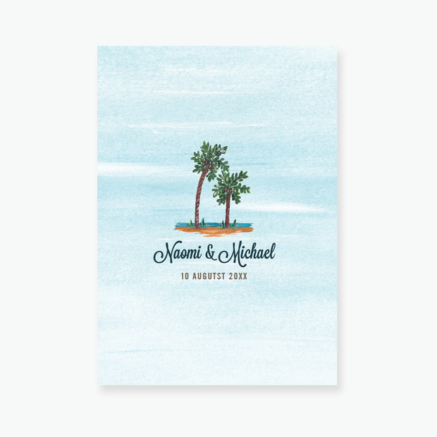 Tropical Dream Enclosure Card