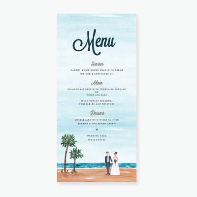Tropical Dream Menu