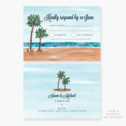 Tropical Dream RSVP Card
