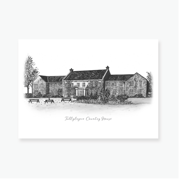 Tullylagan Country House Art Print
