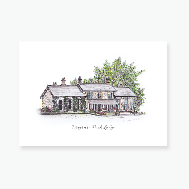 Virginia Park Lodge Art Print