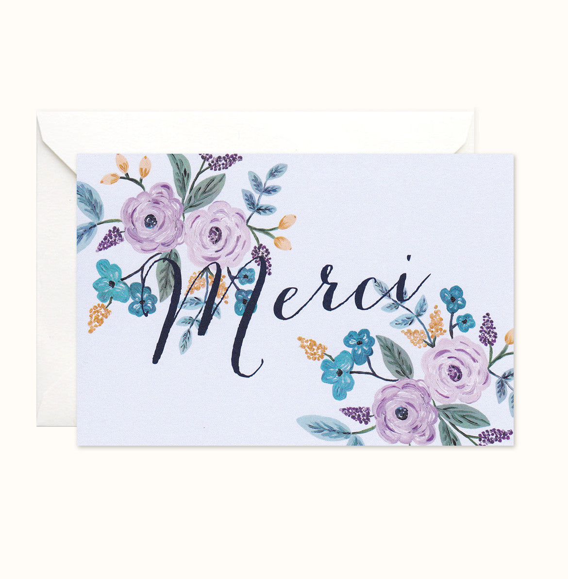 Whimsy Thank You card