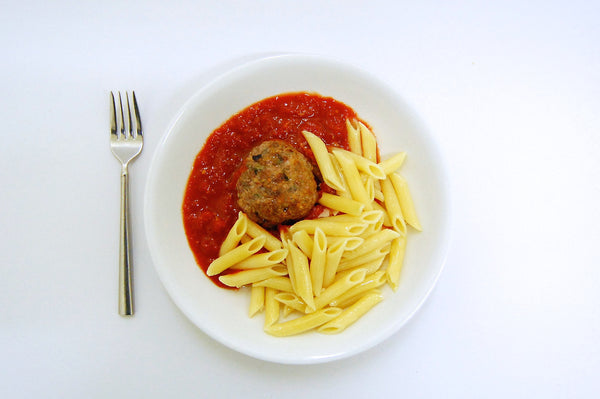 Kids Meatballs with Penne & Red Sauce