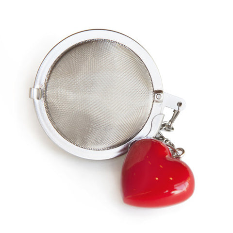 Red Heart Tea Ball