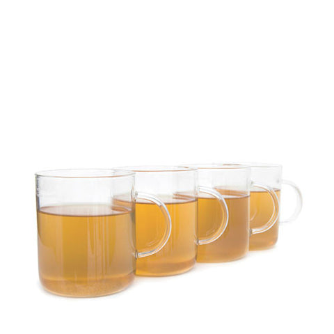 Glass Tea Mugs (Set of 4)