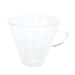 V-Neck Glass Mug
