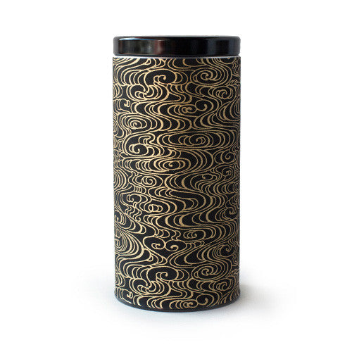 Gold & Black Smoke Canister