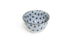 Asanoha Patterned Porcelain Cup Set of 4