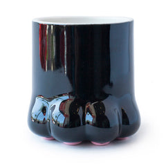 cat paw tea mug front