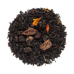 blushing berry loose black tea