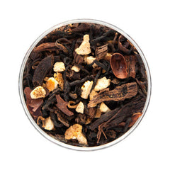 black mandarin tea