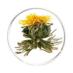 golden mu dan blooming tea