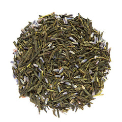 lavender sencha loose green tea