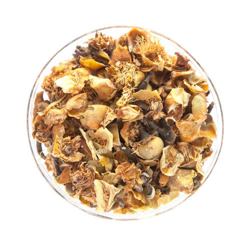 puer flower herbal tea
