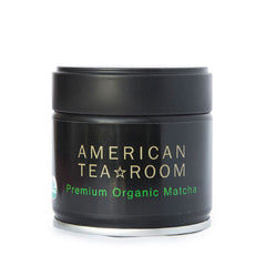 organic ceremonial matcha tea tin
