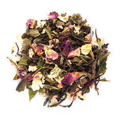 la vie en rose loose white tea
