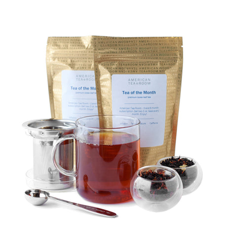 Black Tea Monthly Subscription with Free Infuser Mug