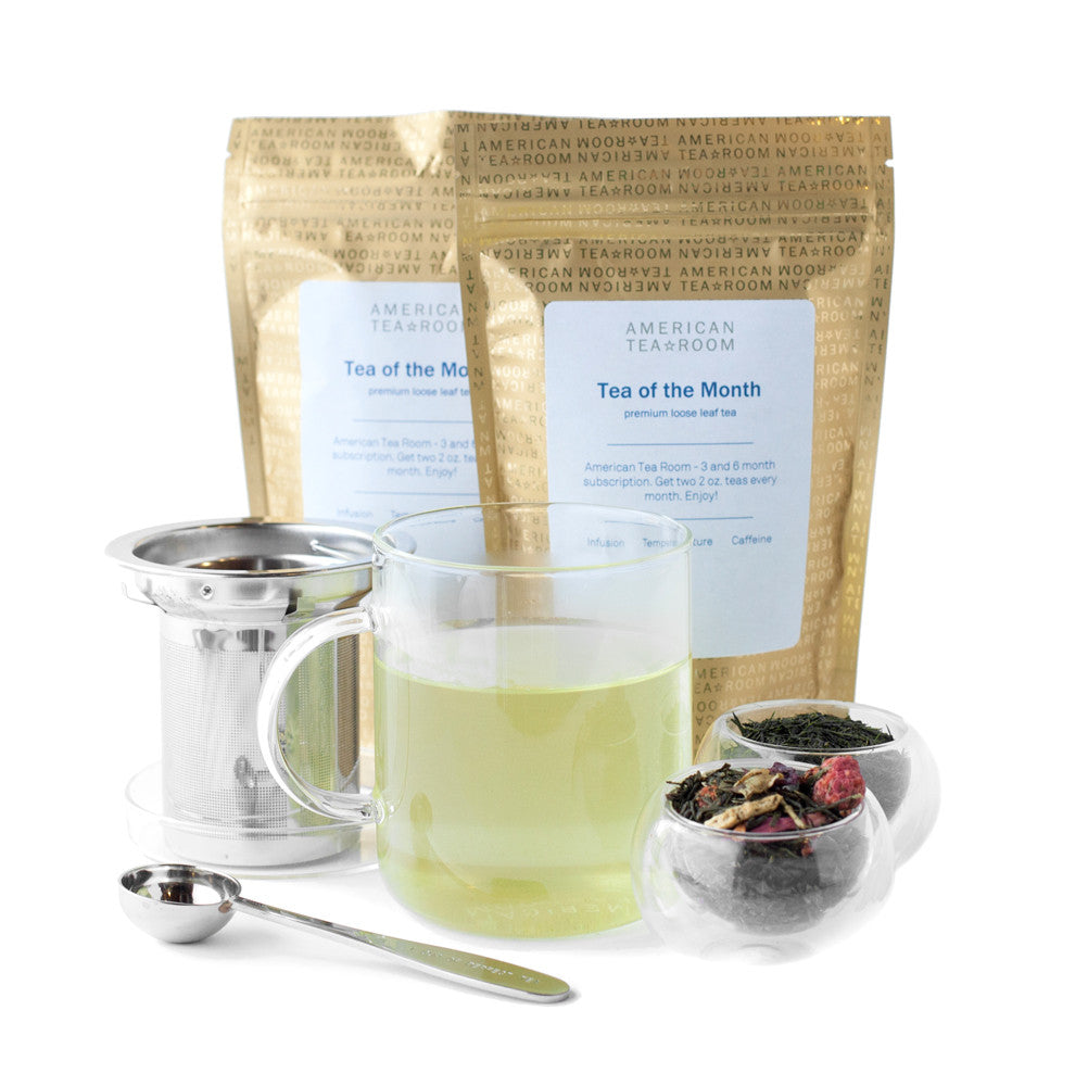 Green Tea Monthly Subscription with Free Infuser Mug