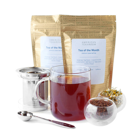Herbal Tea Monthly Subscription with Free Infuser Mug