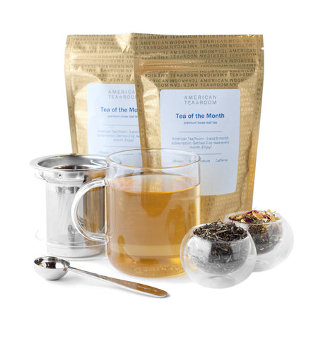 Seasonal Tea Monthly Subscription with Free Infuser Mug