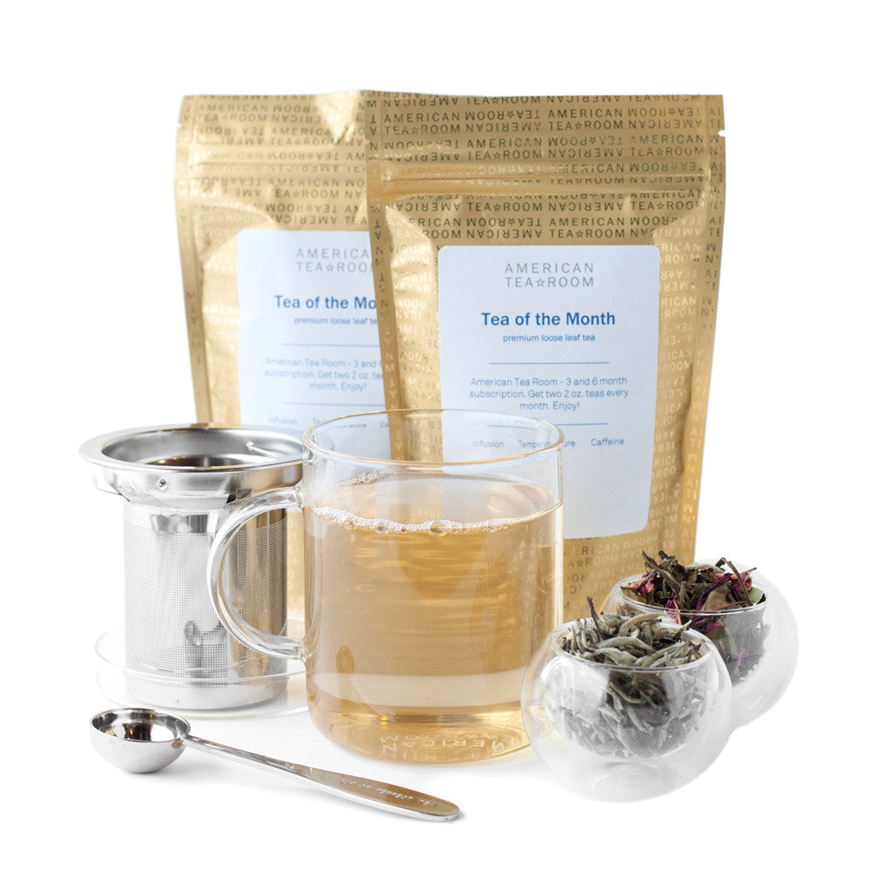 White Tea Monthly Subscription with Free Infuser Mug