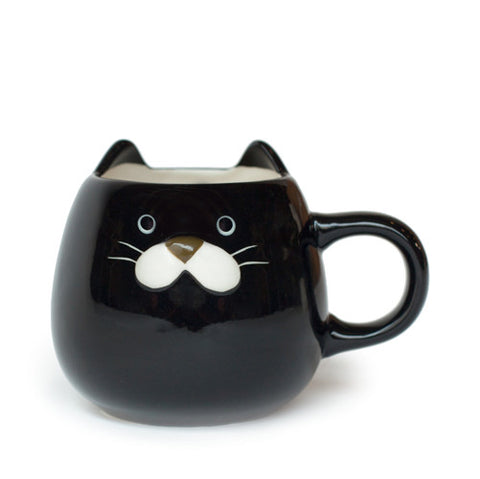 Black Cat 10 oz Mug
