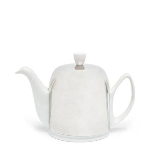 6 - Cup Salam Teapot (White)