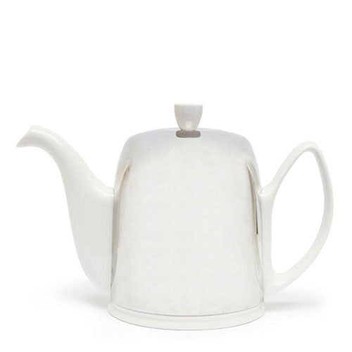 Guy Degrenne Modern French Teapot White 8 Cup