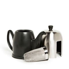 Guy Degrenne Modern Salam Tea Pot - Black - All Parts