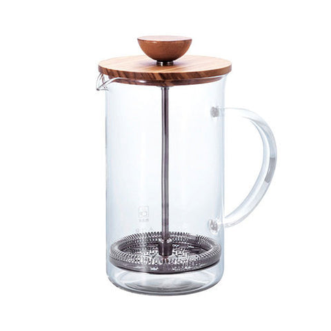 Hario Olive Wood Tea Press