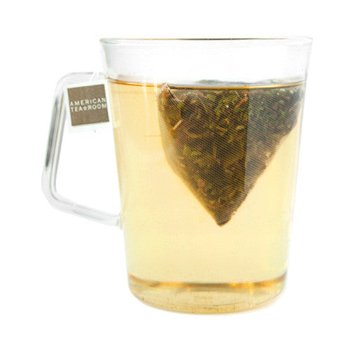 moroccan mint tea sachet in cup