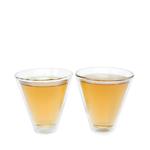 V-Shape Double Walled Tea Cups (Set of 2)