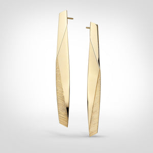 Aston - 14k gold earrings