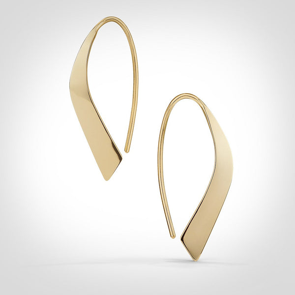 Augusta - 14k gold earrings
