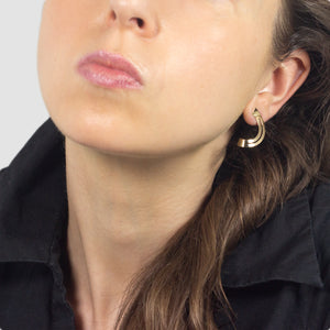 Sutton - 14k gold earrings